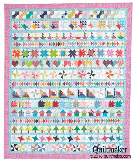 New Special Issue: Quiltmaker Row Quilts