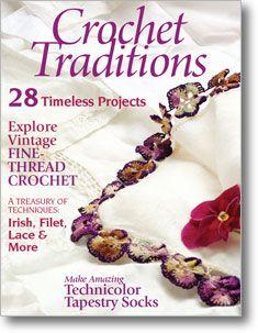 Amazing crocheted sock pattern in this edition.: Crochet Book, Magazines Knit, Knitting Magazines, Craft Books, Traditions Magazines, Crochet Magazines, Craft Ebook Magazine