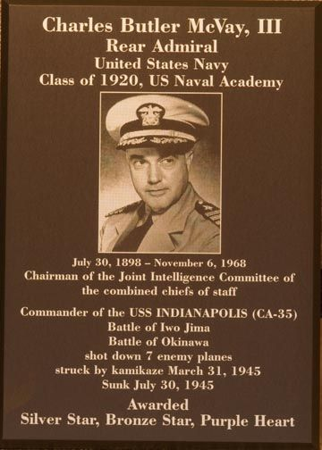 Capt Mcvay The Uss Indianapolis Pinterest
