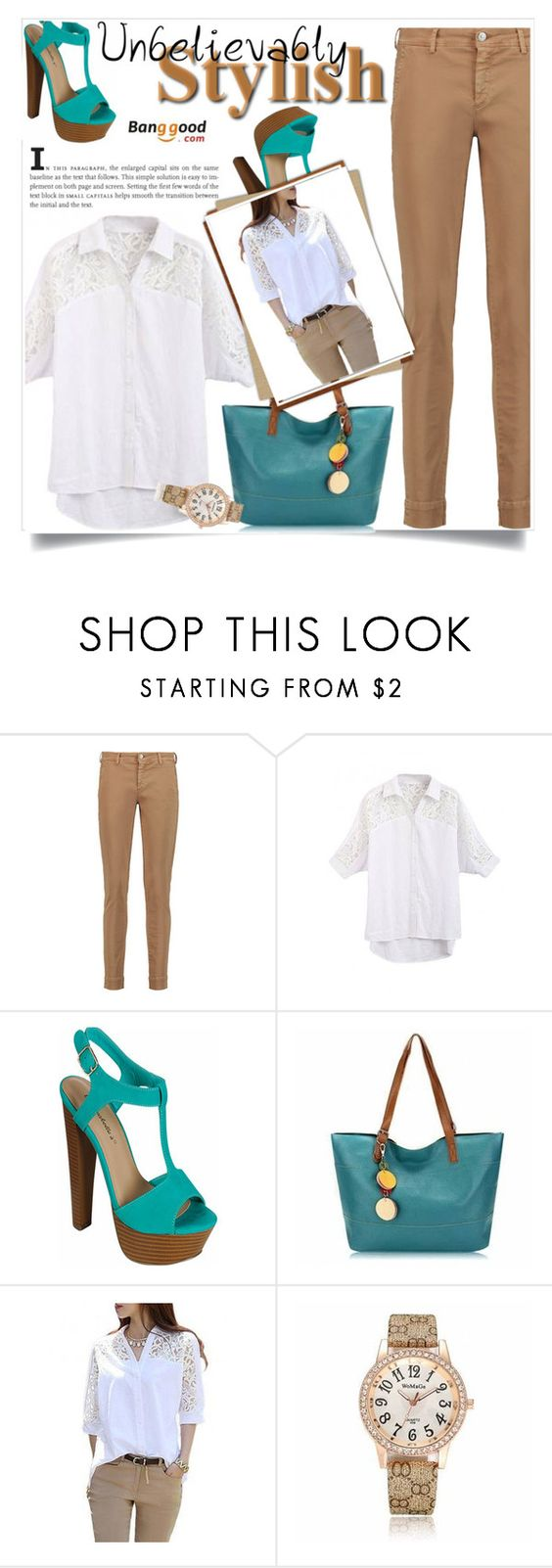 """Banggood #3"" by almedina-86 ❤ liked on Polyvore featuring 7 For All Mankind and BangGood"