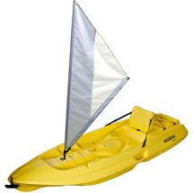 Walmart: Lifetime Kayak Sail Kit Accessory, Gray/White