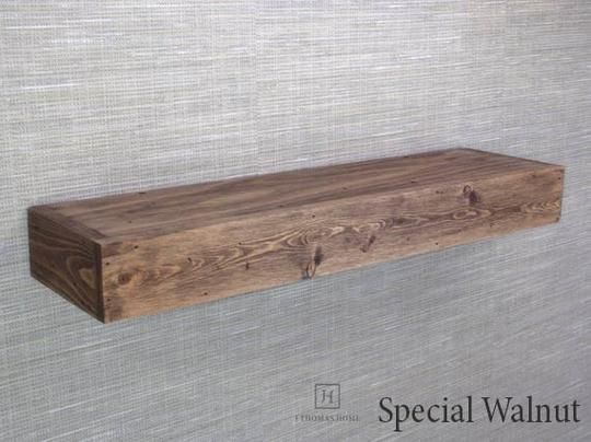 Thick Floating Shelves Wood Floating Shelf Farmhouse Shelves