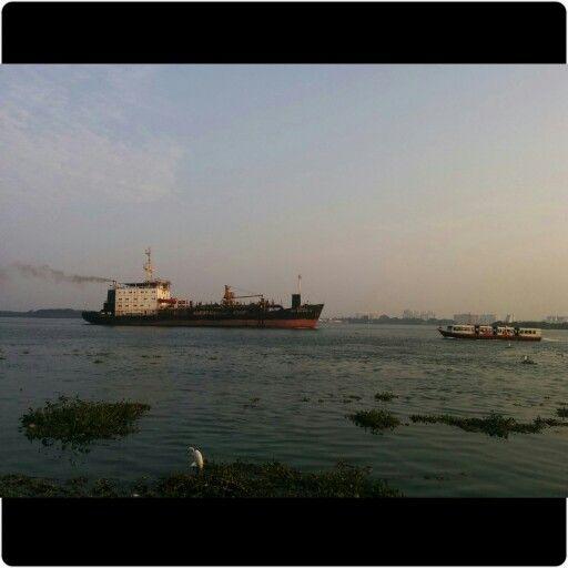 Willingdon Island in Kochi, Kerala