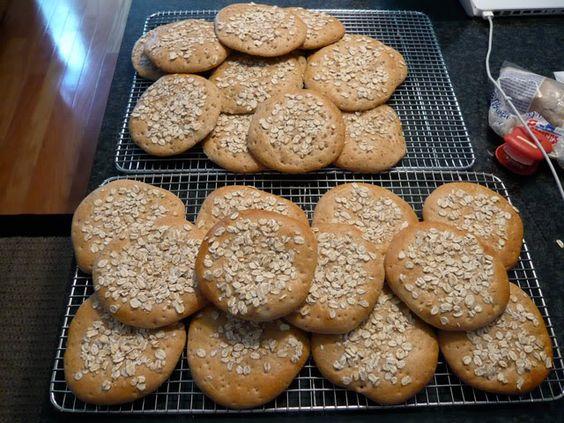 Recipe for Multi Grain Deli Flats or Rounds | The Fresh Loaf