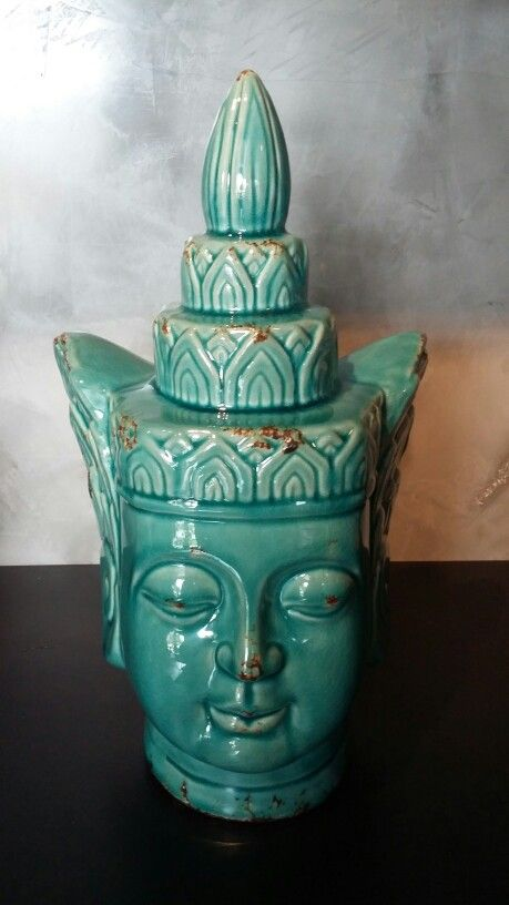 Cabeça de Buda verde Jade