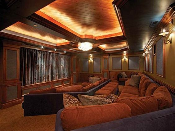 Comfy Home Theater Home Design Pinterest Theater Home And Home Theaters