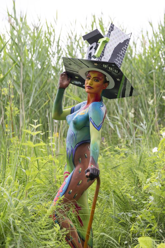 WBF 2014 | Amateur Award Brush & Sponge 'Pop Art'  Photography: Atelier 'et Lux', Artist ID626: Jemimah Raty - Belgium