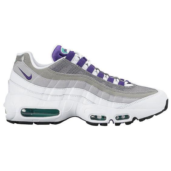 Nike Air Max 95 - Women\u0026#39;s - Running - Shoes - White/Emerald Green/