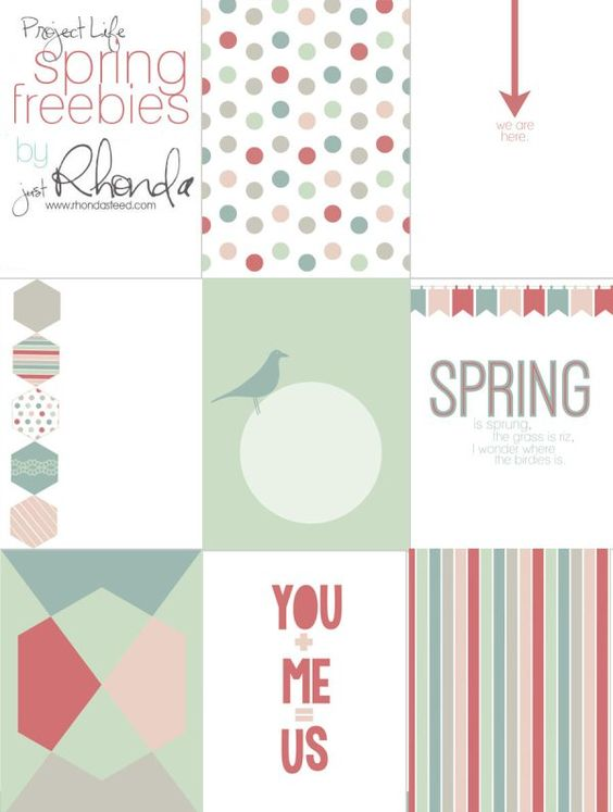 Project Life Fridays |                                   Wendy Schultz - Printables.