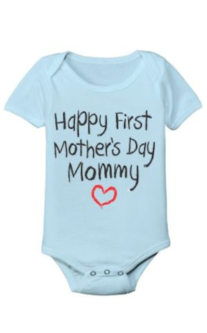 darling first mother's day onesie