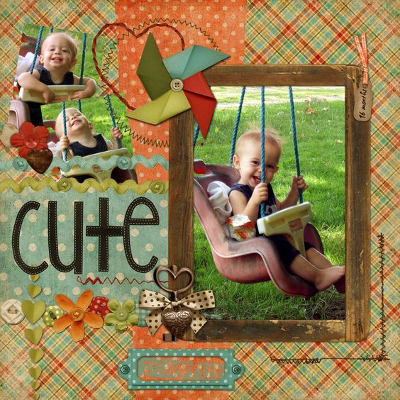 JP at 16 months - Scrapbook.com