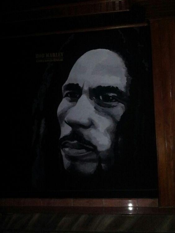 Bob Marley2/ wallpainting