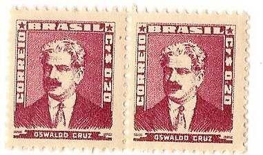 Selo Série Bisneta - Oswaldo Cruz