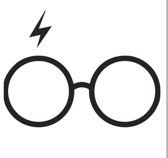 something potter fans should draw harry potter glasses harry potter scar harry potter something potter fans should draw
