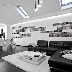 moderne Wohnzimmer von modero architekci