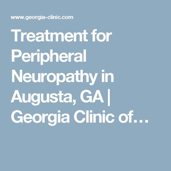 Treatment for Peripheral Neuropathy in Augusta, GA | Georgia Clinic of…