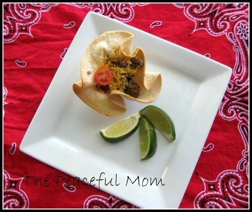 Recipe: Quick and EasyTaco Cups!