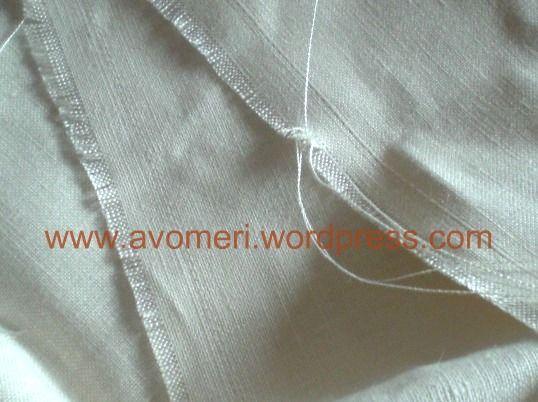 Drawn threads / Bainhas abertas (1) | agulhas da Méri®