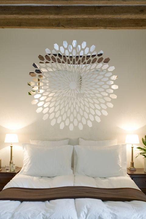 Wall Decals Reflective 3D- WALLTAT.com Art Without Boundaries living room