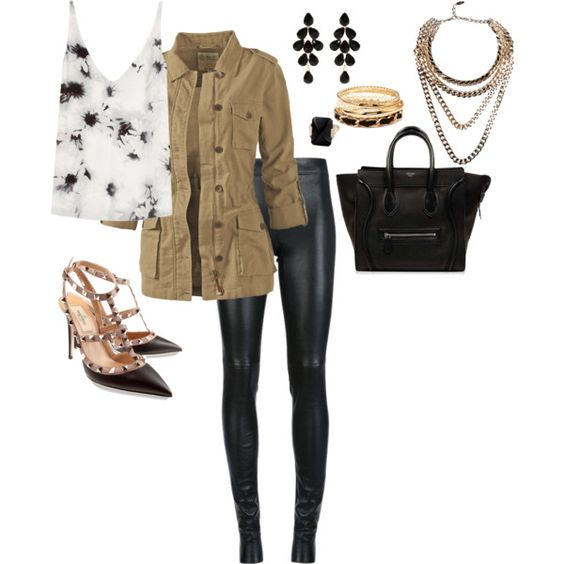 """""""Black white and nude"""" by zippy7flaca on Polyvore"""