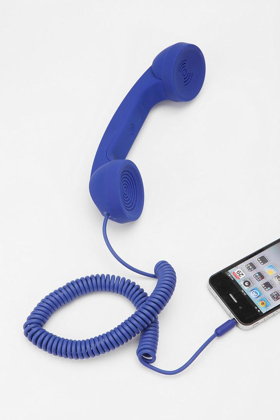 I own this in white :) But I love the purple! Yes?? YES. :D :D Native Union Pop Phone Handset  #UrbanOutfitters