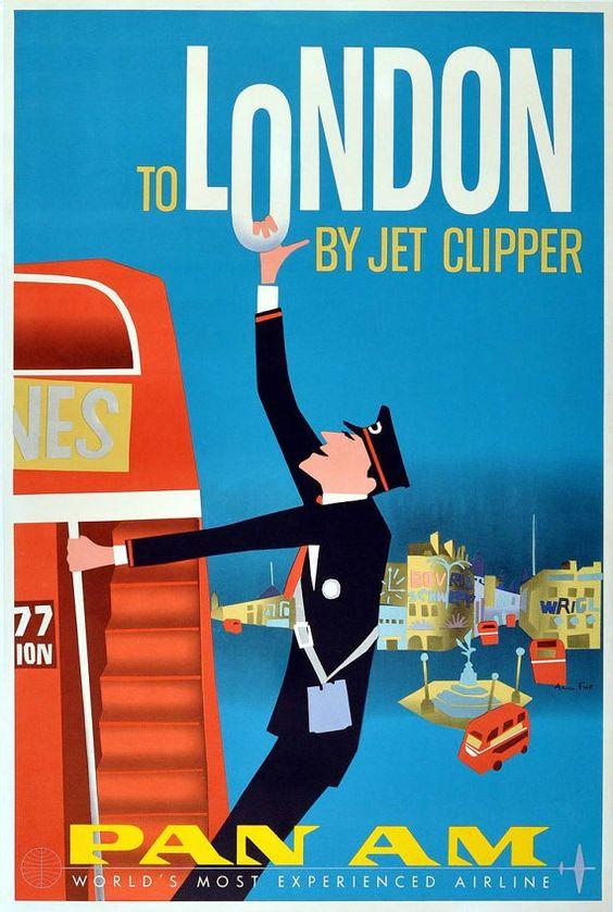 Brazil Travel Poster, Rio Travel Poster, Vintage Travel Poster, Travel, Vintage…
