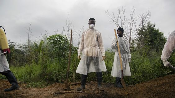 Kieren Kesner. A day in the life of the Ebola burial team.