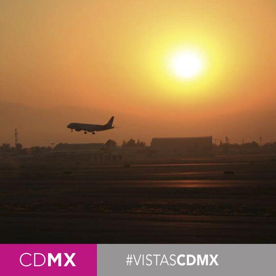 #CDMX #AeropuertoCDMX #AICM #AtardecerCDMX