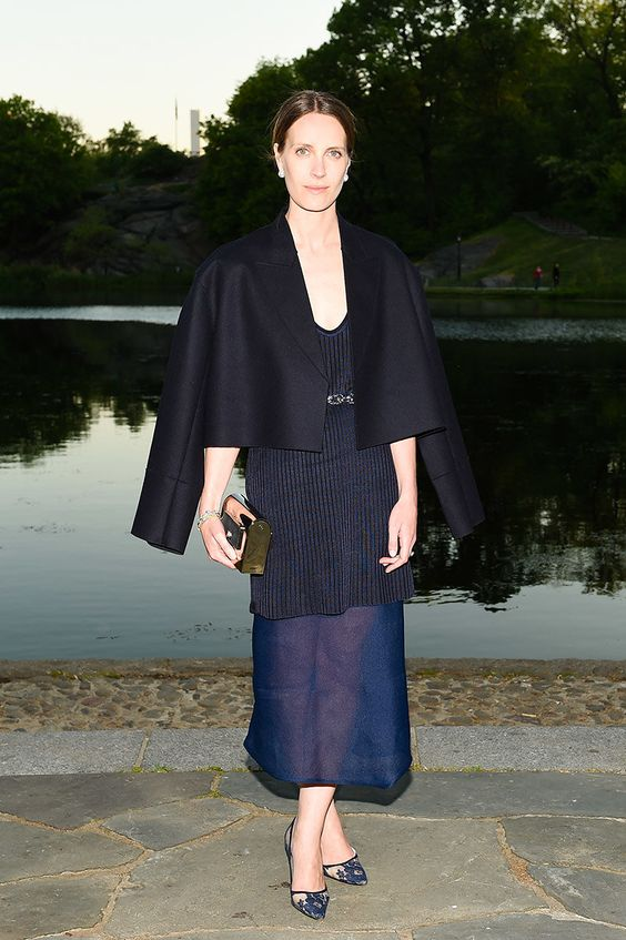 "WHO: Vanessa Traina Snow WHAT: Calvin Klein Collection WHERE: Calvin Klein Collection celebrates the unveiling of Creative Time's ""Drifting in Daylight: Art in Central Park"" WHEN: May 14"