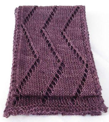 Free Crochet Patterns Zig Zag Scarf : Zig-Zag Lace Scarf Knitting Projects Pinterest Lace Scarf, Free ...