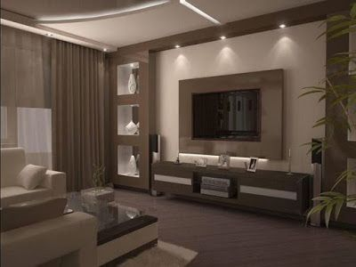 Latest Gypsum Board Tv Wall Design For Living Room Living Room Tv Wall Niche Design Trendy Living Rooms