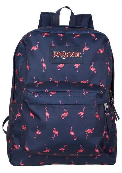 Jansport Superbreak Flamingo Backpack