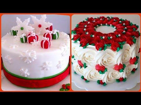 Best Christmas Cakes 2021 Top Simple 10 Christmas Cake Best Christmas Cake Collection 2020 2021 Youtube Christmas Cakes Easy Christmas Cake Cake