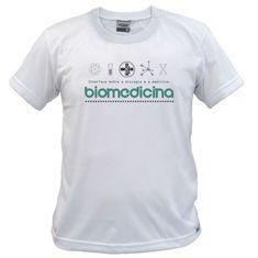 Camiseta de Biomedicina Bmed04: Clique para ver detalhes