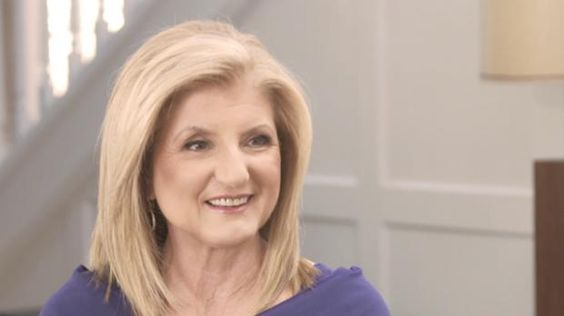 Arianna Huffington tells Amanda de Cadenet about how she learned to live in the moment. #pinterest