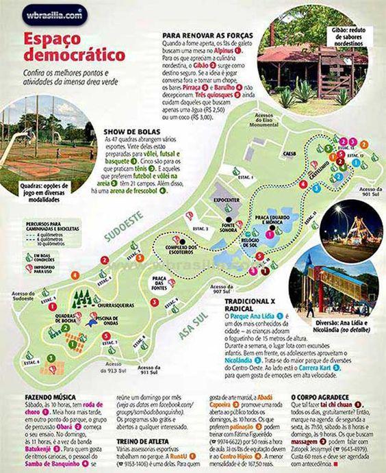 - Asa Sul - Brasília / DF - Brasil ...... Parque da Cidade