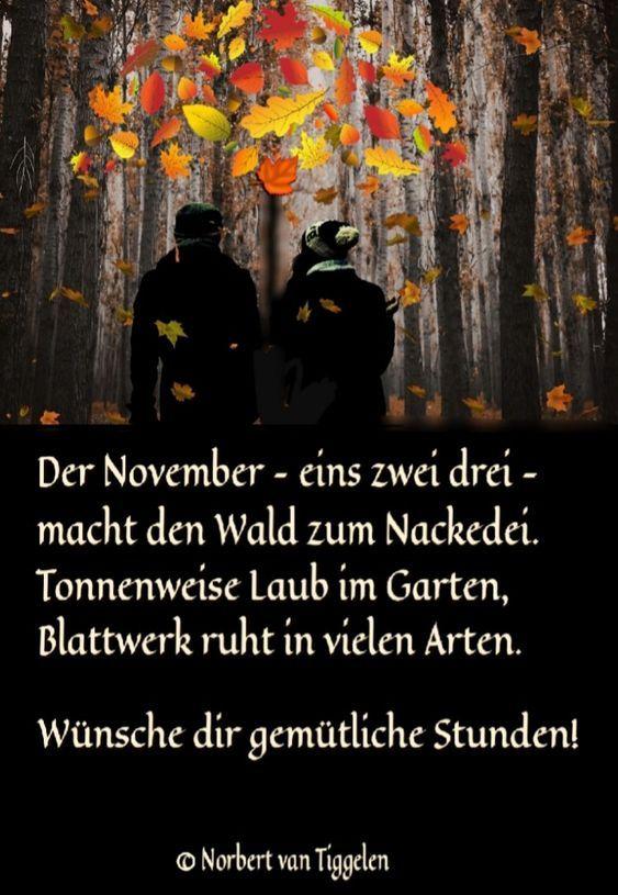 November Herbst Spruch Spruche Bilder Fasching