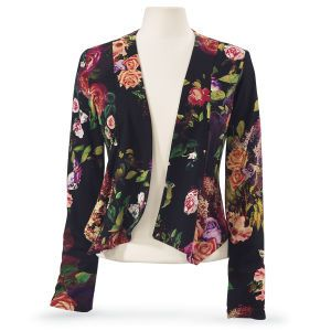 Cabbage Rose Jacket - Women's Clothing & Symbolic Jewelry – Sexy, Fantasy, Romantic Fashions