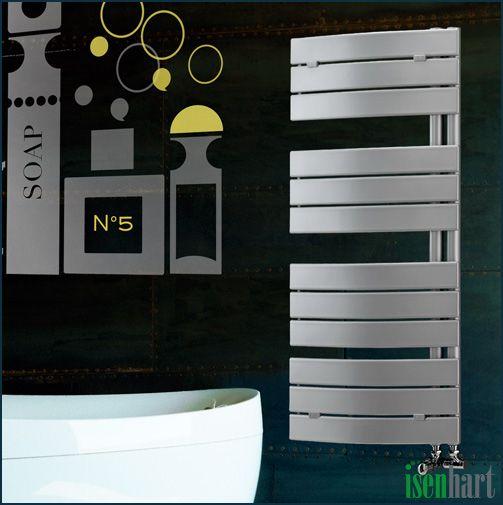 eleganter design-heizkörper tünnes mit seitlicher Öffnung #bad