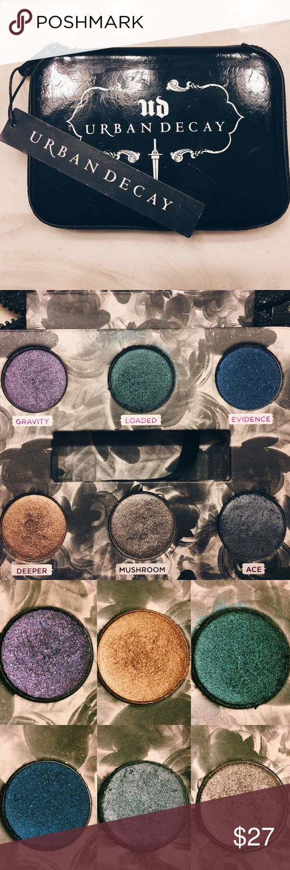 Urban Decay 'Dangerous' Palette Eyeshadow This vibrant and pigmented eyeshadow palette is perfect for a night out! Never used because it was a gift - and, just because I prefer natural colors😊 I will accept offers! Urban Decay Makeup Eyeshadow
