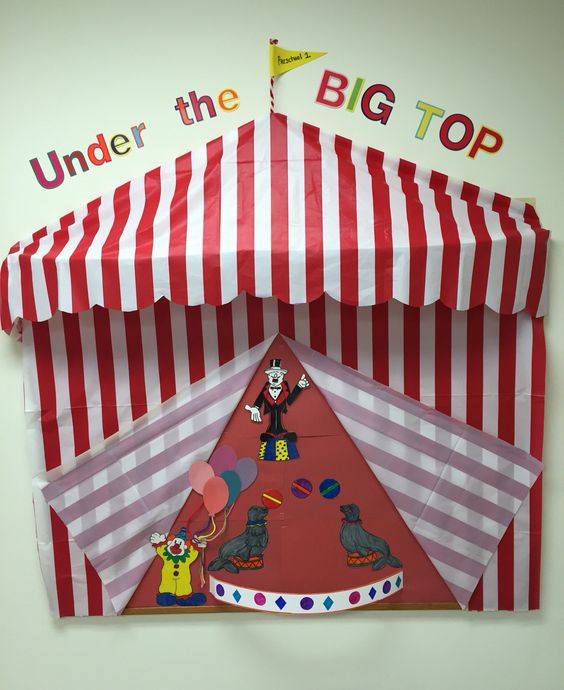 17 Best Images About Circus Pbs Bulletin Boards And