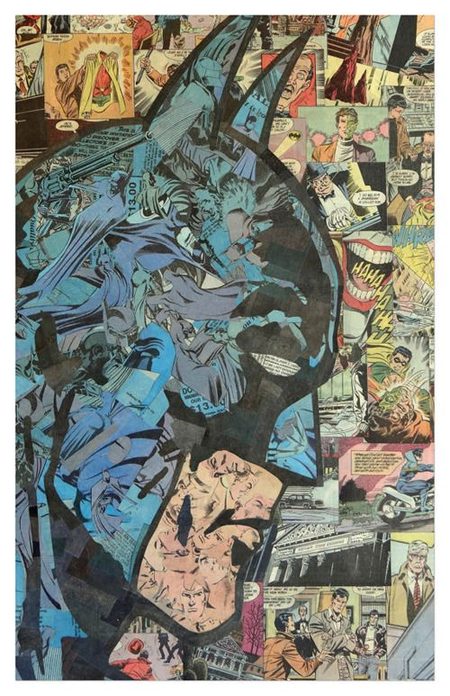 Batman - Superhero Collages