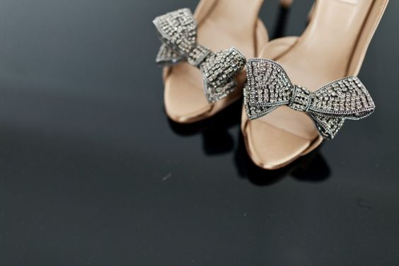 bedazzled bows by Valentino http://www.valentino.com  Photography by http://getstak.com