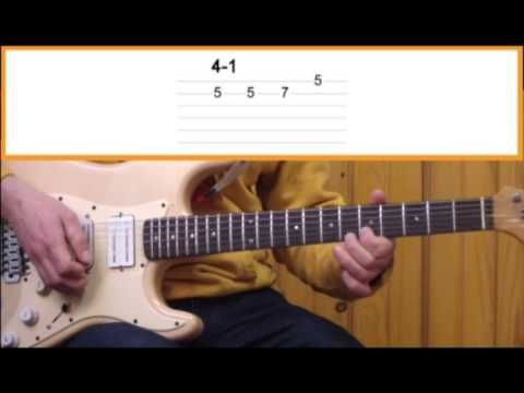 """Gitar Dersi - Blues Solo Gitar Dersleri 4 - """"Blues Cümle Kurmak"""""""