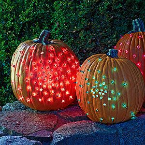 Too Cute to Spook: Glowing Gourds (via Parents.com)
