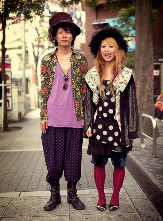 Moda Urbana Japonesa