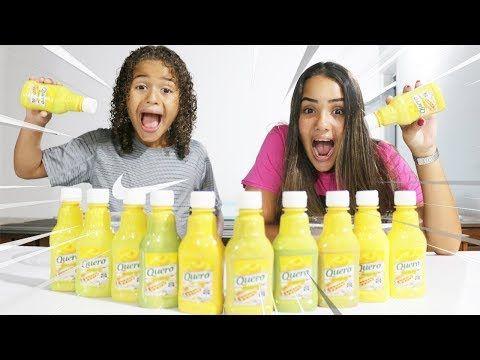 Nao Escolha A Mostarda Errada Slime Challenge Youtube Challenge Slime Youtube