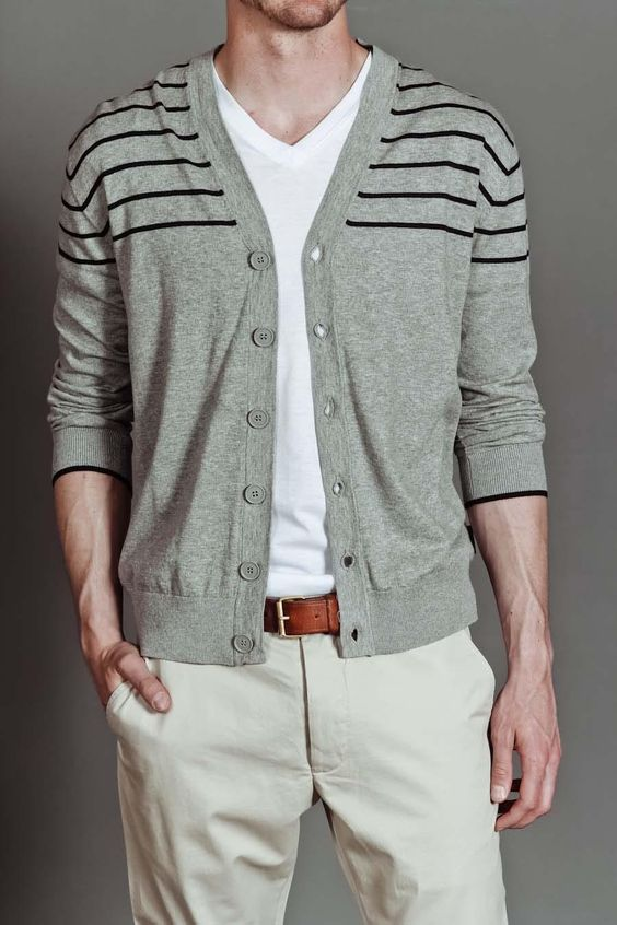 Cardigans are just timeless