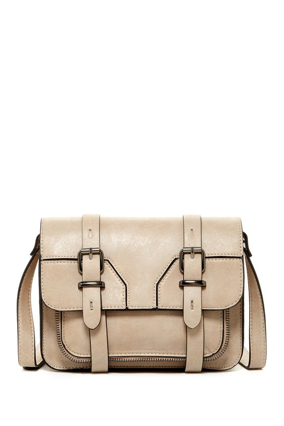 Double Buckle Flap Crossbody by Steve Madden on @nordstrom_rack