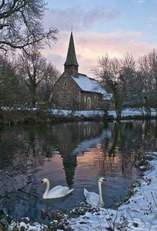 Stone church: